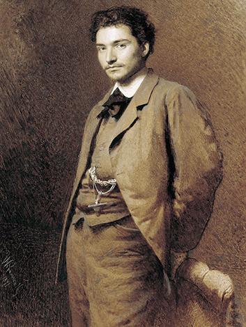 Федор Васильев. Худ. И. Н. Крамской (1871 г.)