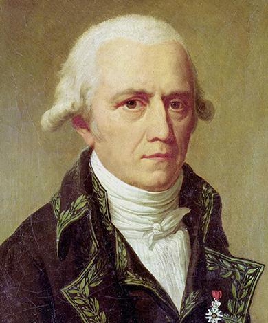 Портрет Жана Батиста Ламарка, худ. Шарль Тевенен (1802 г.)