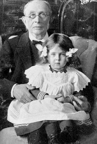 Константин Победоносцев с приемной дочерью Марфой