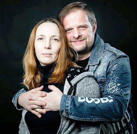С женой Марией Перовой