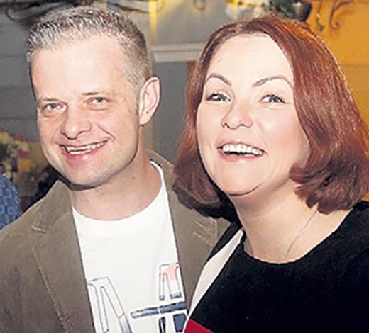 Роман Рябцев и Марина Канцлер