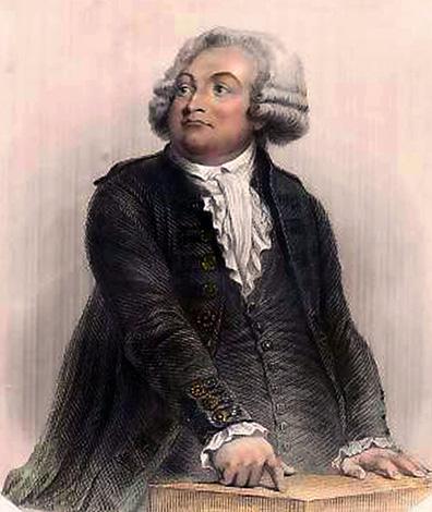 Оноре де Мирабо. Худ. Огюст Раффе, 1847 г.