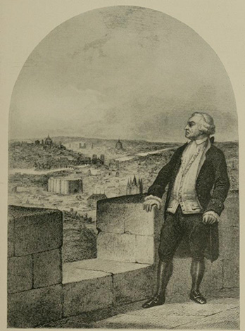 Эскиз с графом Де Мирабо