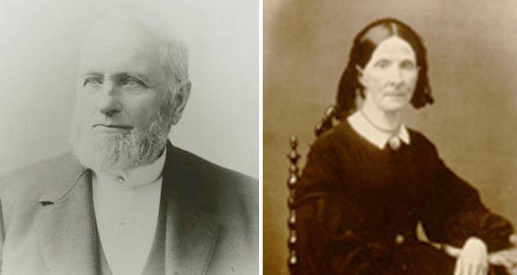 Родители — Уильям и Элиза