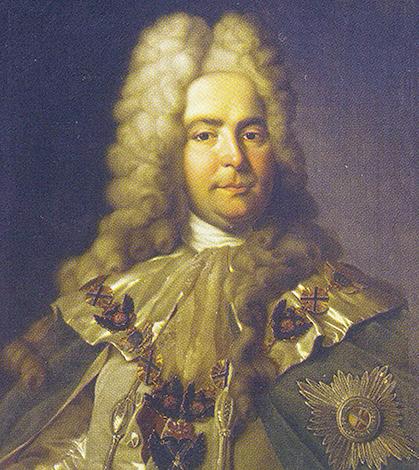 Павел Ягужинский на портрете