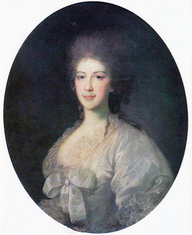 Прасковья Павловна Ягужинская, княгиня Гагарина в браке