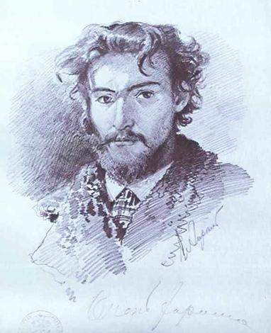Федор Александрович Васильев (автопортрет)
