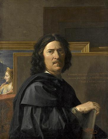 Автопортрет Николы Пуссена, 1650 г.