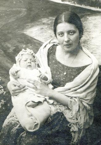 Маргарита Голосовкер с сыном Сигурдом
