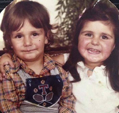 Ибрагим Челиккол с сестрой Аслы