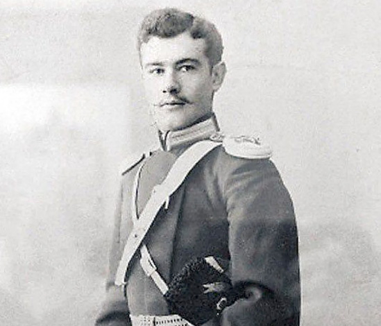 Александр Ханжонков в юности