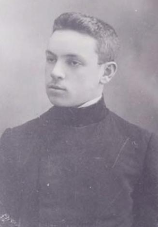 Юрий Тынянов, выпускник псковской гимназии (1912)