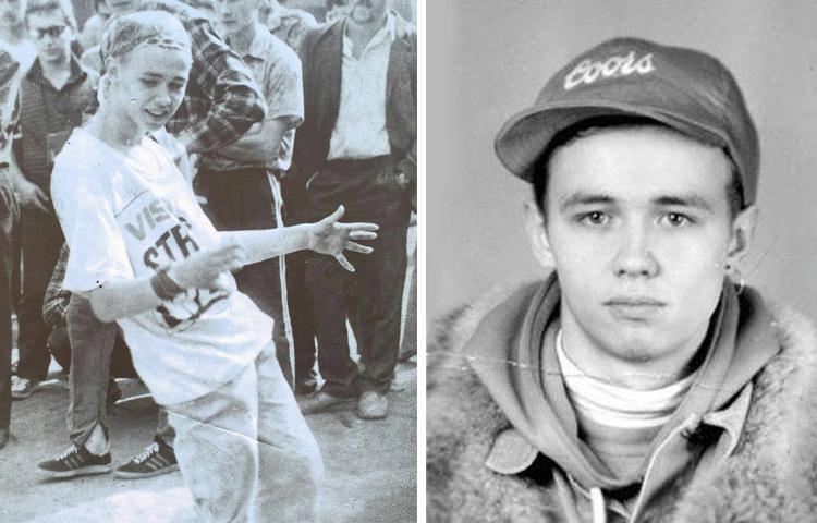 Андрей Лысиков (Дельфин) в юности