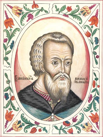 Василий III. Изображение конца XVII века