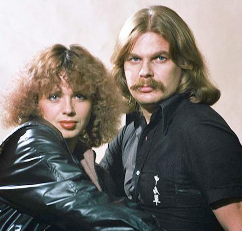 С женой Еленой в молодости