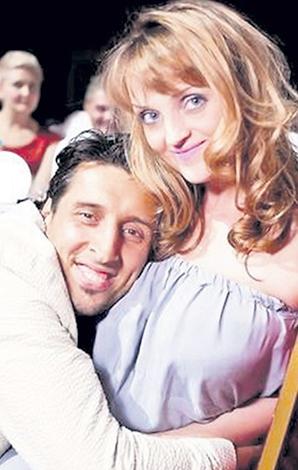 С женой Еленой
