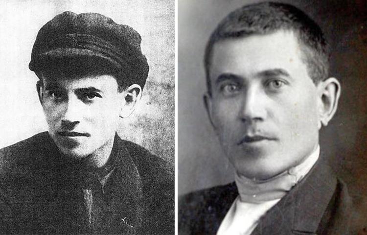 Николай Ежов в юности и молодости