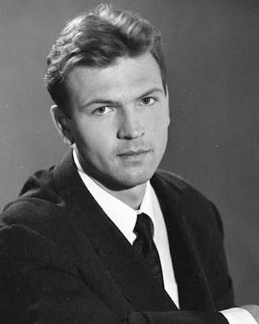 Петр Баранчеев в молодости