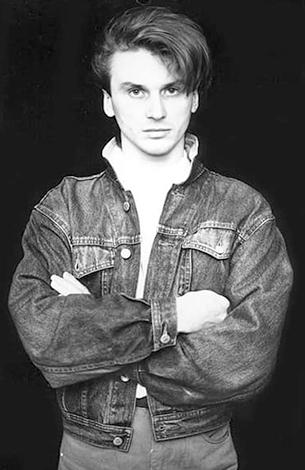 Сергей Васюта в молодости