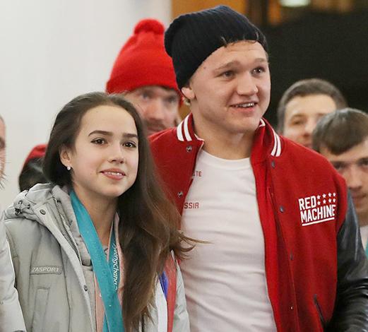 С Алиной Загитовой