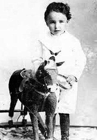 Зигмунд Фрейд в 3 года