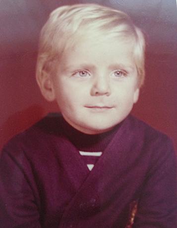 Сергей Пиоро в детстве