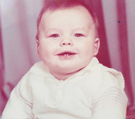 Влад Канопка в раннем детстве
