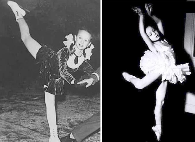 Наталья Седых в детстве