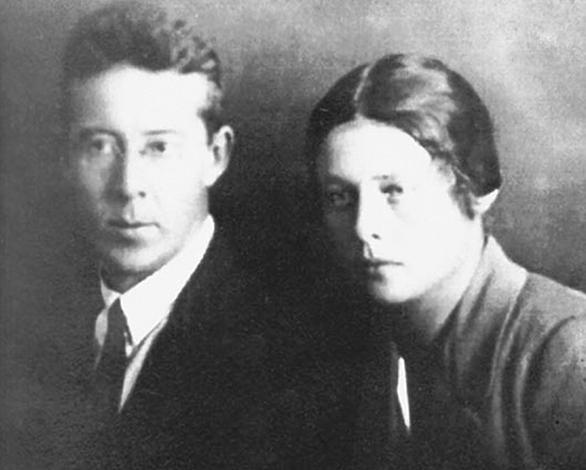 Питирим и Елена Сорокины. Прага, 1922 г