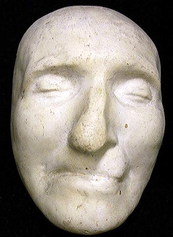 Посмертная маска Томаса Пейна