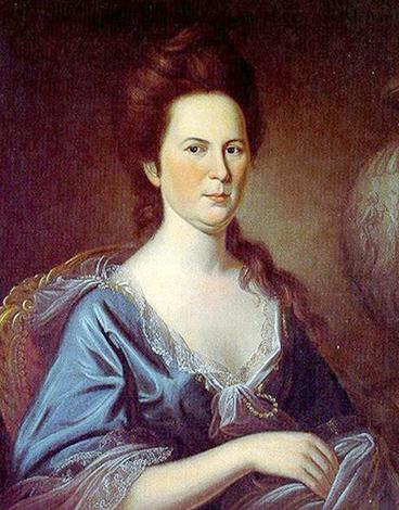 Первая жена — Мэри Ламберт