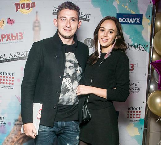 Николай Серга и Лиза Мохорт
