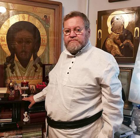 Олег Стеняев в 2021 году