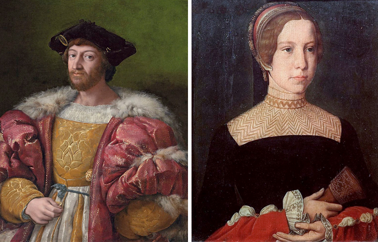 Родители — Лоренцо II Медичи и Мадлен де ла Тур