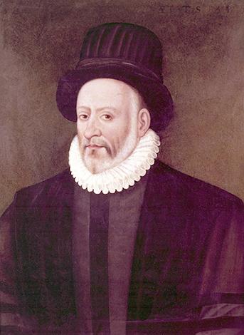 Мишель де Монтень на портрете Этьена Мартелланжа (1587 г.)