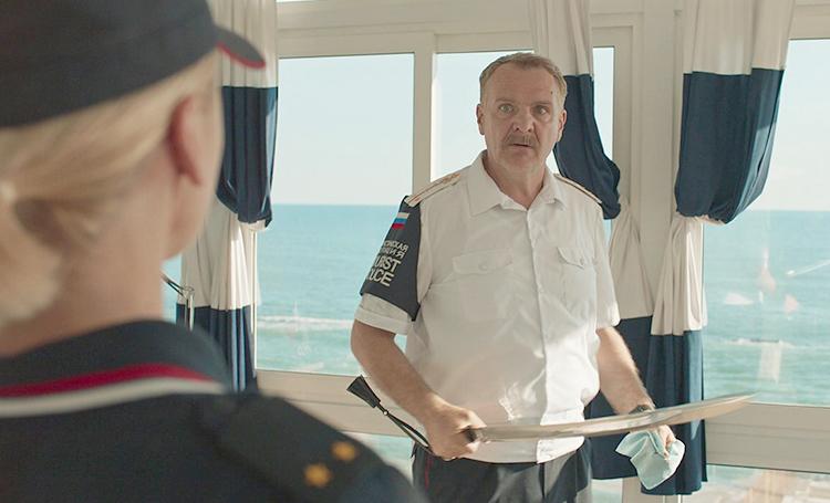 В сериале «Туристическая полиция»