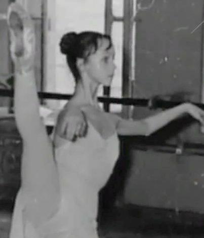 Наталья Седых в юности
